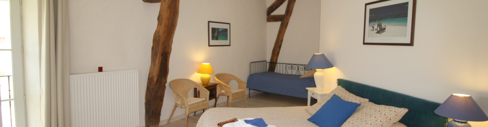 Ferme d'Orsonville - Bed and Breakfast - Blanche