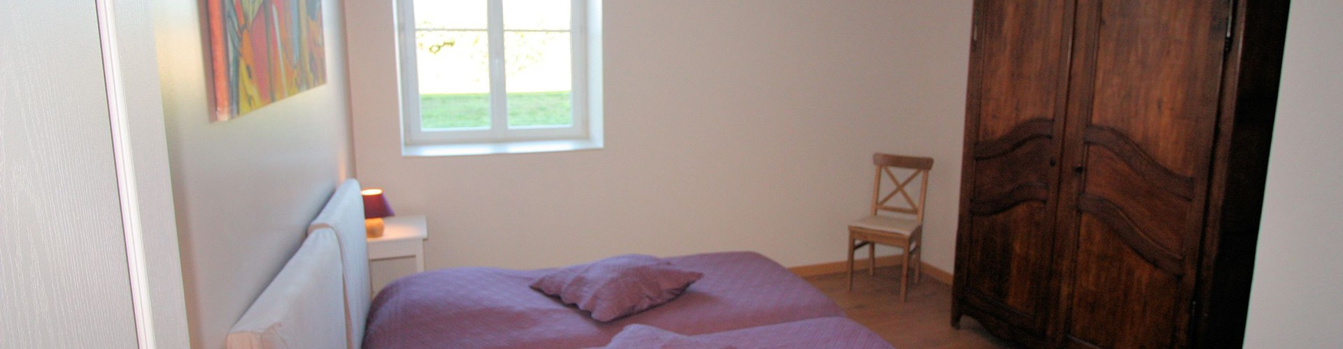 Ferme d'Orsonville - Living Cottage - Bedroom Macke