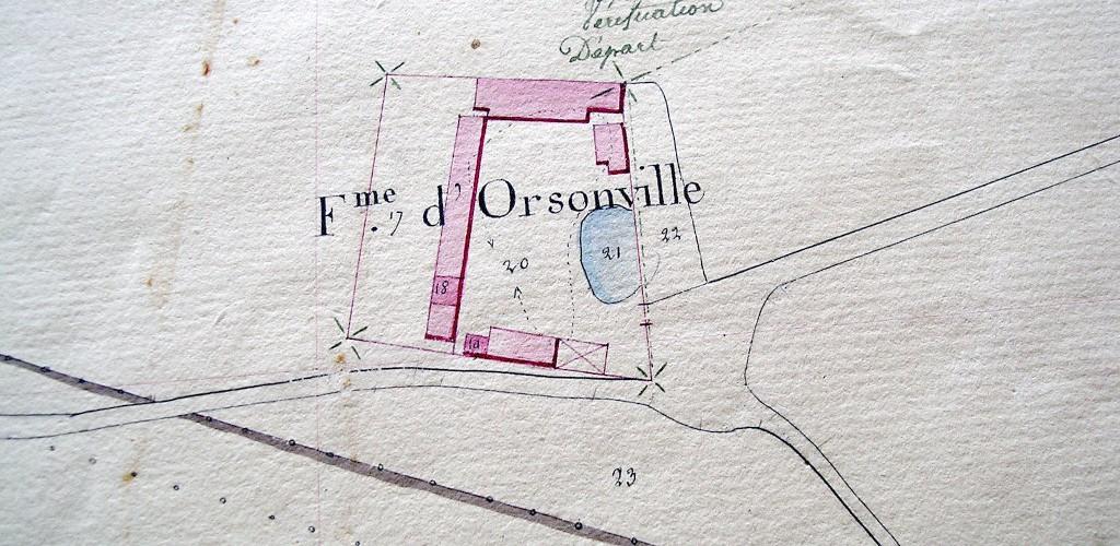 Ferme d'Orsonville - Un peu d'Histoire