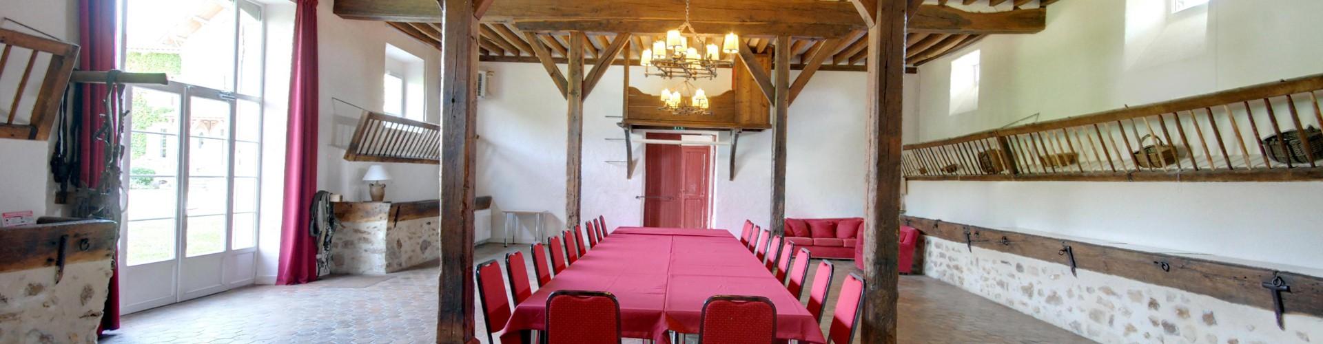 Ferme d'Orsonville - Salle du Palefrenier - Villiers en Bière